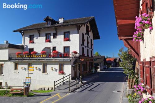 Place in Leysin. For 2 people