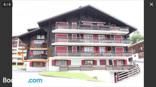 Place in Villars-sur-Ollon. Convenient for 6 or more