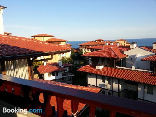 Gran apartamento en Sveti Vlas con aire acondicionado