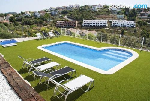 Family place with swimming pool. Terrace!
