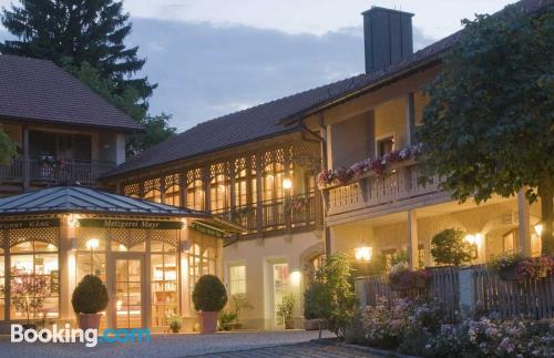 Perfect location and terrace in Saaldorf for couples