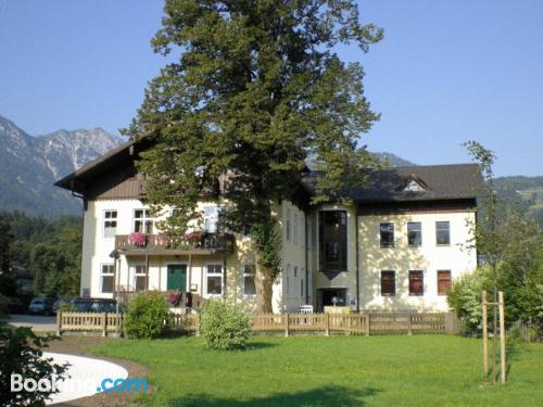 Place in Bad Goisern with terrace and internet.