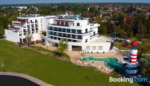 Centric apartment with terrace and swimming pool