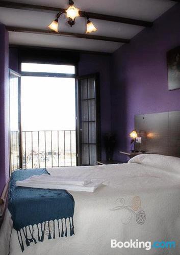 Apartamento en el centro con terraza en Peñacaballera