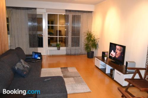 Huge apartment in Helsinki with heat and internet