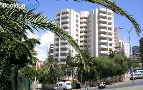 Apartamento con terraza en Benidorm