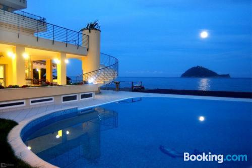Petite place with swimming pool and terrace