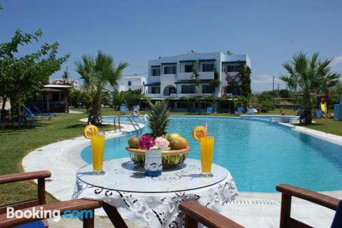 Place for 2 in Agios Prokopios with terrace