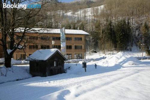 Apartamento para parejas en Schnepfau con calefacción y conexión a internet