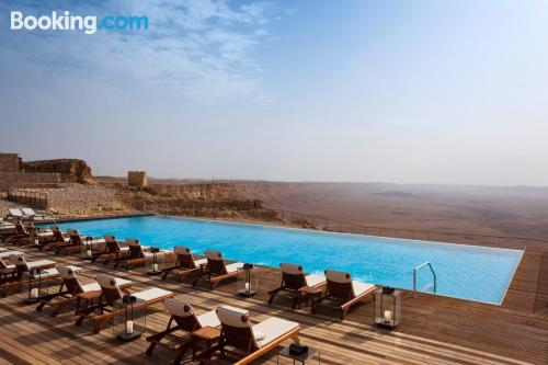 Home for two in Mitzpe Ramon with terrace