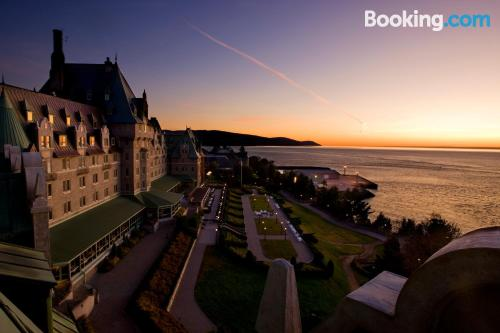 In La Malbaie. For two people