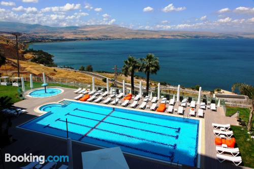 Stay in Tiberias. Air-con!