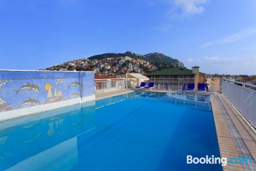 Child friendly apartment in Alanya with terrace