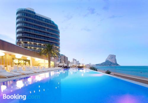 Home for two people in Calpe in center