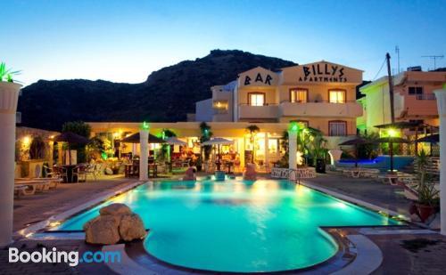 Apartamento de 28m2 en Faliraki con vistas y piscina