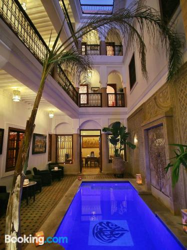 Apartment with terrace. Pool!
