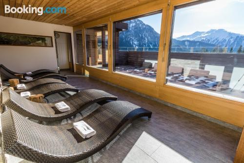Apartamento con terraza en Davos