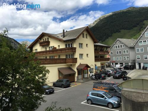 Apartamento para parejas en Andermatt ¡Con vistas!