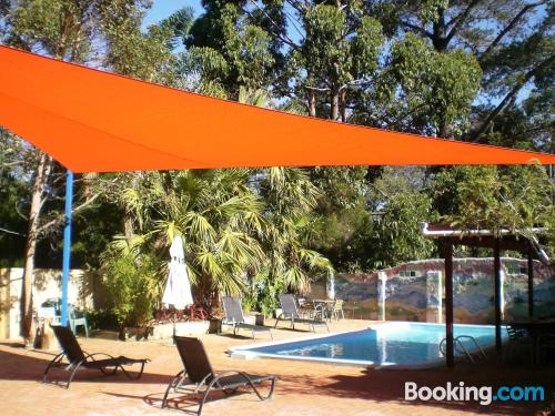 Terrace and wifi apartment in Margaret River with heating