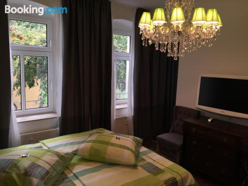 One bedroom apartment in Erfurt with heating