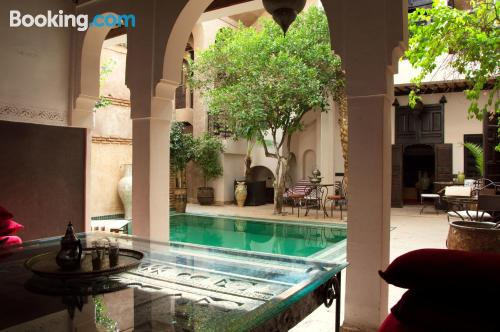 Apartment for two people in Marrakech with terrace.