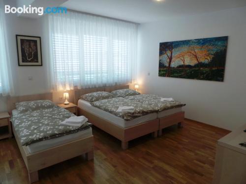 Apartamento para viajeros independientes en Liubliana con calefacción
