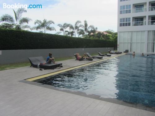 Apartamento para dos personas con aire acondicionado