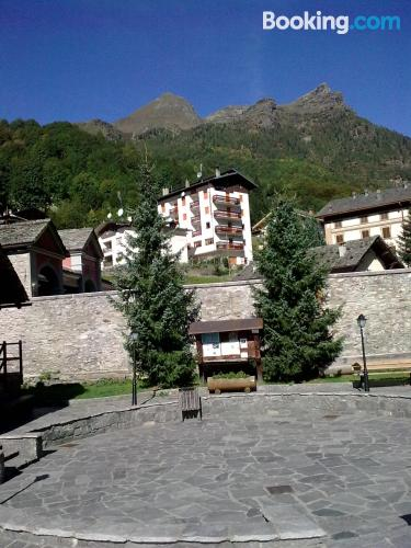 Home with wifi in great location of Alagna Valsesia