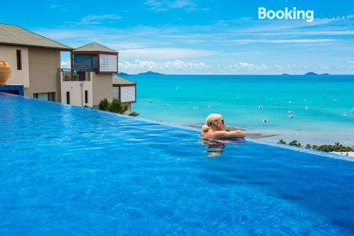 Home for couples in Airlie Beach with internet and terrace.