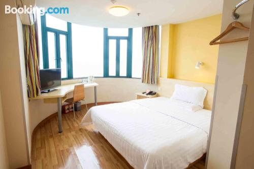 Small apartment in Zhongshan. Be cool, there\s air!