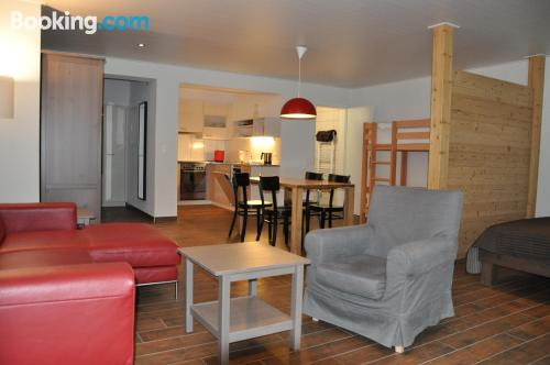 1 bedroom apartment in Schwarzsee with wifi and terrace
