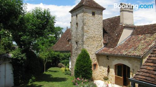 One bedroom apartment in Loubressac. For 2 people