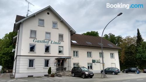 Place for 2 people in Bregenz. Dog friendly!