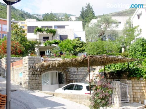 Dog friendly apartment in Petrovac na Moru. Sleeps couples