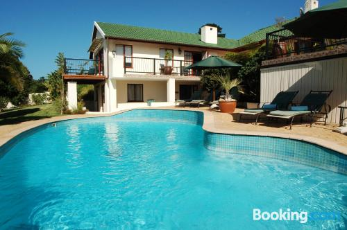 Place in Knysna with terrace and internet