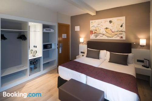 Place for couples in Barcelona with air