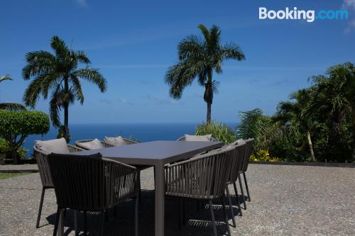 Stay cool: air apartment in Port Antonio with wifi.