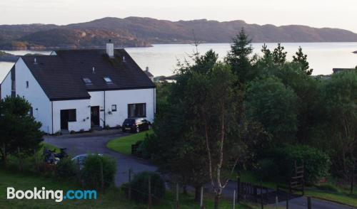 Place for two in Lochinver with terrace