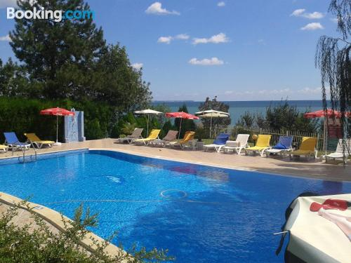 Place with terrace. Enjoy your pool in Kavarna!