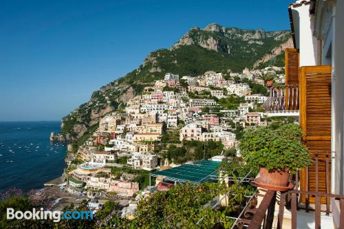 Home for 2 in Positano with terrace