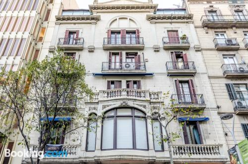 Place in Barcelona in perfect location. Stay!