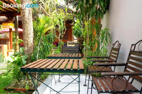 Terrace and wifi home in Sanur. 28m2!