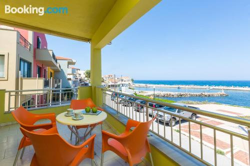 Apartment in Panormos Rethymno with terrace