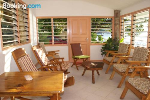 Grand Anse at your feet! Ideal for families