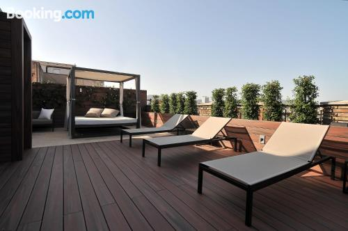 26m2 home in Barcelona with terrace