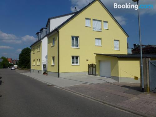 Apartment for couples in Bad Bergzabern in great location