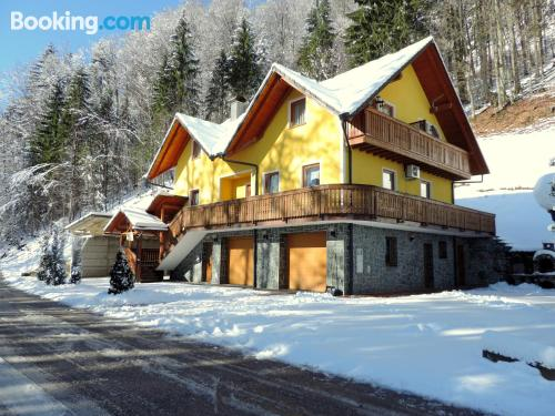 1 bedroom apartment in Cerkno perfect for six or more!