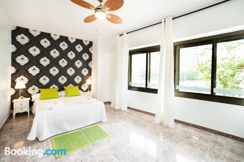 22m2 home in Barcelona with heating and wifi