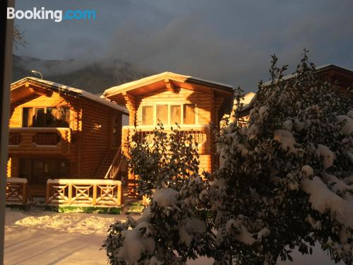 Apartment with terrace. Krasnaya Polyana is waiting!