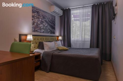 Place in Moscow for two